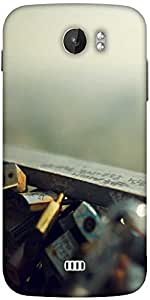 Snoogg Locker Bridge Designer Protective Back Case Cover For Micromax A110