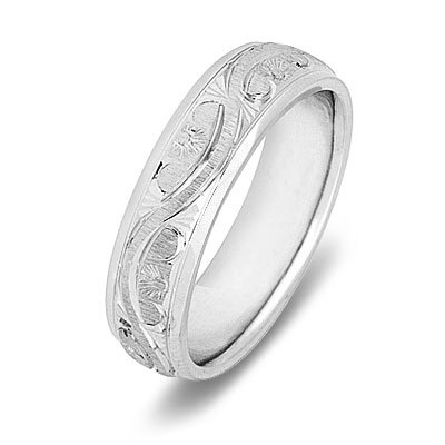 Simple Wedding Planning Guide on Wedding Planning Guides  14k White Gold Atique Women S Wedding Band