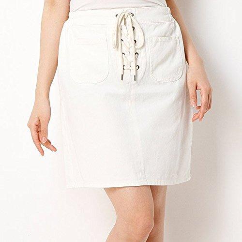 Amazon.co.jp: イーハイフンワールドギャラリー(E hyphen world gallery) フロント編み上げデニムスカート: 服&ファッション小物