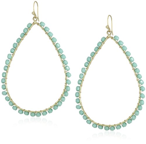Flying Lizard Designs Turquoise Teardrop Earrings