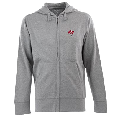 NFL Men's Tampa Bay Buccaneers Full Zip Signature Hooded Sweatshirt