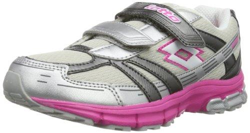 lotto-zenith-cl-s-chaussures-de-running-competition-mixte-enfant-gris-grau-met-sil-wht-34-eu