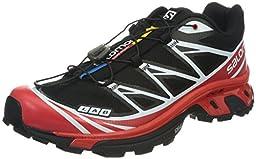 Salomon S-Lab XT 6 Softground Shoe Black / Racing Red / White 8.5