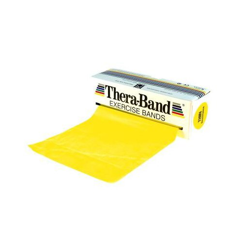 Thera-Band Exercise Band - 45.5m Light, Yellow
