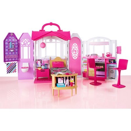 Barbie Glam Getaway House, Pink (Glam House compare prices)