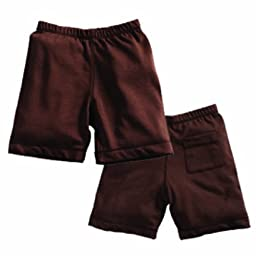 Babysoy Soft Shorts , Chocolate 12 18 Months