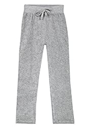 Chalk by Pantaloons Girl's Regular Fit Track Pant(205000005609025, Grey, 2-3 Years)