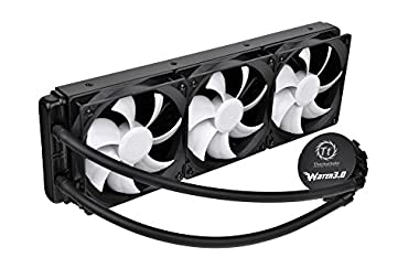 Thermaltake Water 3.0 Ultimate 360mmラジエター搭載水冷キット FN828 CL-W007-PL12BL-A