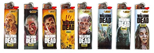 limited-edition-bic-walking-dead-lighters-5-lighters