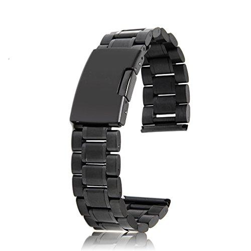 uhrenarmbander-schwarz-massiv-edelstahl-links-bandbugel-gerade-ende-faltschliesse-20mm