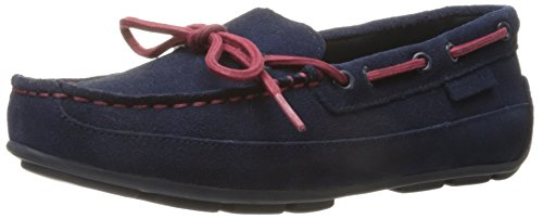 Cole Haan Grant Driver NVY SDE/RD Driving Moccasin (Toddler/Little Kid/Big Kid), Navy/Red, 5.5 M US Big Kid (Grant Driver Cole Haan compare prices)