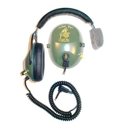 Killer B Stinger Optima Headphone For Metal Detecting Fits Various Metal Detectors