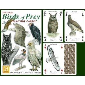Birds of Prey Playing Cards - 1