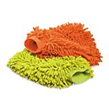 Griot's Garage 10268 Micro Fiber Wash Mitt - Set of 2