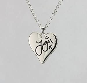 Zayn One Direction Heart Signature Necklace w/ Special 1D Gift Box by Fun Daisy Jewelry