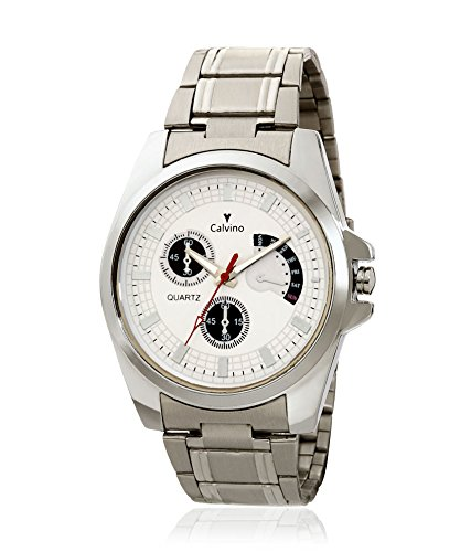 Calvino Calvino Analog White Men's Watch- CGAC-142011White