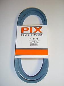 Made With Kevlar Replacement Belt For Craftsman, Poulan, Husqvarna Belt # 178138 from Craftsman