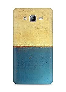 Amez designer printed 3d premium high quality back case cover for Samsung Galaxy ON5 (Art abstract classic paint illust blue)