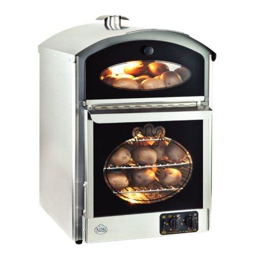 King Edward Bake-King Potato Oven Stainless Steel