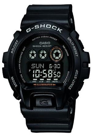 Casio - GD-X6900-1ER - G-Shock - Montre Homme - Quartz Digital - Cadran Noir - Bracelet Résine Noir