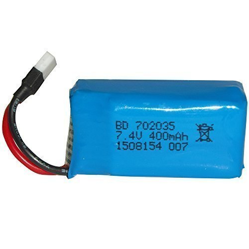 7.4V 2S LiPo NightHawk DM007 Quadcopter Battery.