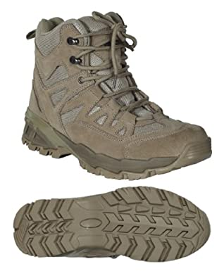 Voodoo Tactical 04-9680 Low Cut 6-Inch Desert Tan Boot Size 8.5W