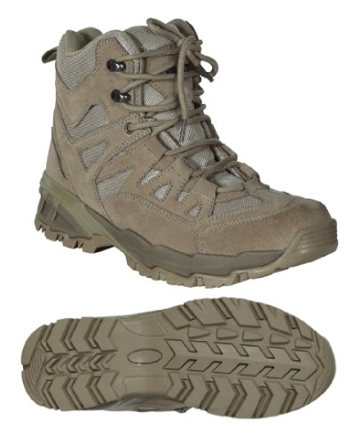 Voodoo Tactical 04-9680 Low Cut 6-Inch Desert Tan Boot Size 10.5W