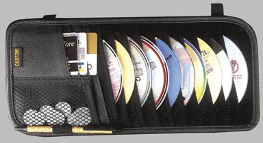 Custom Accessories 31501 10-Pocket CD Visor Organizer image