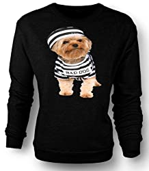 Sweatshirt Yorkshire Terrier - Bad Dog by Black Sheep Clothing
