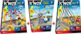 K'NEX Swing Ride/Pirate Ship/Octopus Ride 3-pack