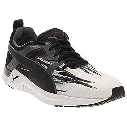 PUMA 188678 Mens Pulse XT Fade Shoes, White/Turbulence/Black - 11.5