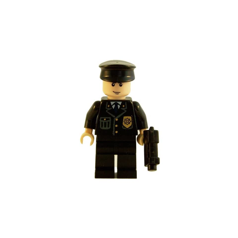 Gotham Police Officer   LEGO Batman Minifigure