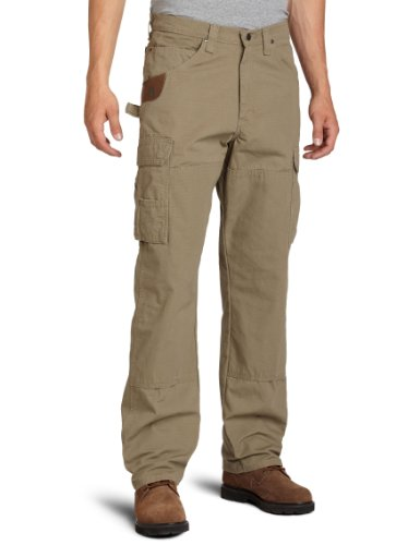 RIGGS WORKWEAR by Wrangler Men's Ranger Pant, Bark, 36W x 34L