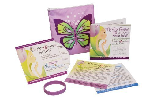 My First Period Kit & DVD (Puberty Starter Kit compare prices)