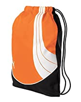 PUMA Men's Teamsport Formation Gym Bag, Orange, One Size
