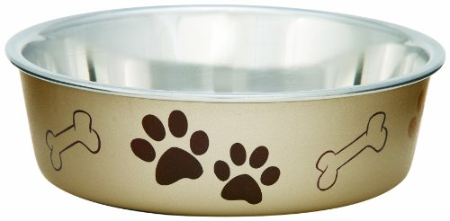 Loving Pets Metallic Bella Bowl Dog Bowls