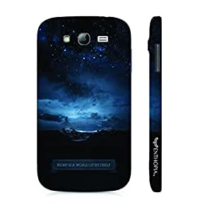 Samsung Galaxy Grand 2 Night is a workld lit by itself designer mobile hard shell case by Enthopia