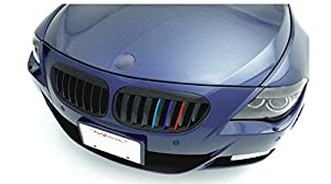 Fds Pair Grill Grille Sticker Decals 3colors Mtec Performance Vinyl For Bmw E36 E46 E90 E92 F30 E31 F34 by fds