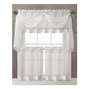 Home Kitchen Home D Cor Window Treatments Draperies Curtains Tiers Valances
