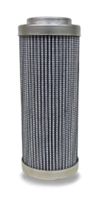 "Schroeder SBF-9020-4Z10B Best Fit Hydraulic Filter Cartridge, Micro-Glass, Removes Rust, Metallic Debris, Fibers, Dirt; 4.31"" Height, 1.75"" OD, 1.0"" ID, 10 Micron"