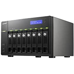 Qnap Intel Atom D2700 2.13GHz/ 1GB RAM/ 2GbE/ 8SATA3/ 2eSATA/ USB3.0/ 8-Bay Tower Turbo NAS Server for SMBs (TS-869-PRO-US)