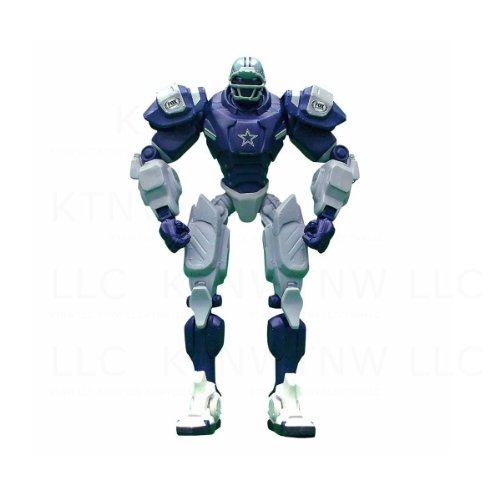 Officially Licensed NFL Team Cleatus 10 Inch Action Figure - Dallas Cowboys
