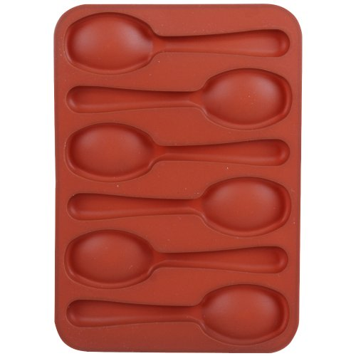 Promobo -Moule en silicone pour Chocolat Biscuit Forme Cuillère Fun