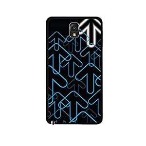 Vibhar printed case back cover for Samsung Galaxy Note 3 Arrows