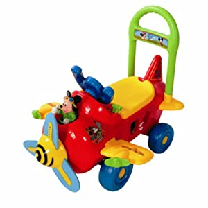 Amazon.com: Mickey Plane Ride-On Toy: Toys & Games
