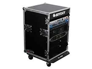 Odyssey FR16WE 16 Space Amp Rack With Wheels Large Rack Case