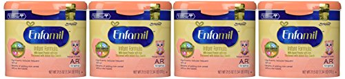 Enfamil A.R. for Spit-Up Baby Formula - Powder - 21.5 oz - 4 pk