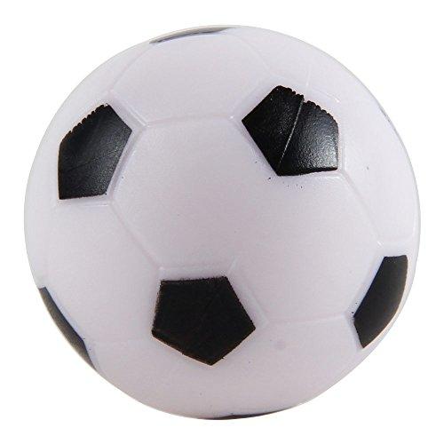niceEshop(TM) Balle pour Baby-foot (28mm, Noir et Blanc)