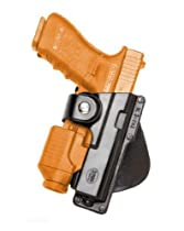 Concealed Carry Fobus Tactical Roto / Retention Hand Gun Holster Model EM19-RT. Fits to: Glock - 19.