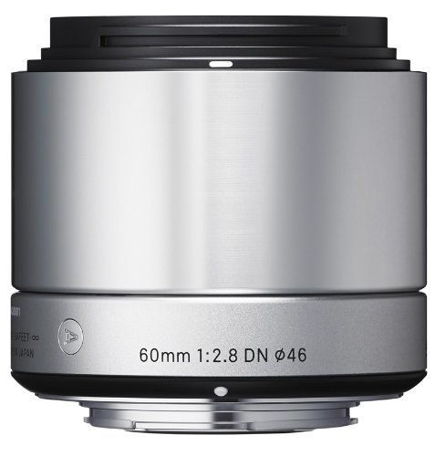 Sigma 60mm F2.8 DN for Micro Four Thirds - Silver Black Friday & Cyber Monday 2014